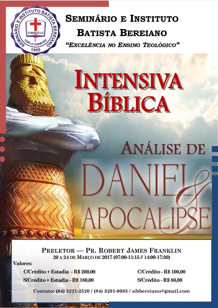 Análise de Daniel e Apocalipse - Intensiva